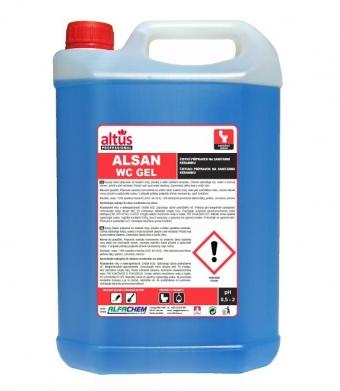 ALTUS Professional ALSAN WC gel čistič WC modrý 5 l